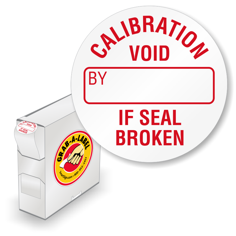 Grab A Label In Dispenser Box