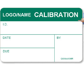 Custom Calibration Labels, Quality Assurance Labels and Inspection ...